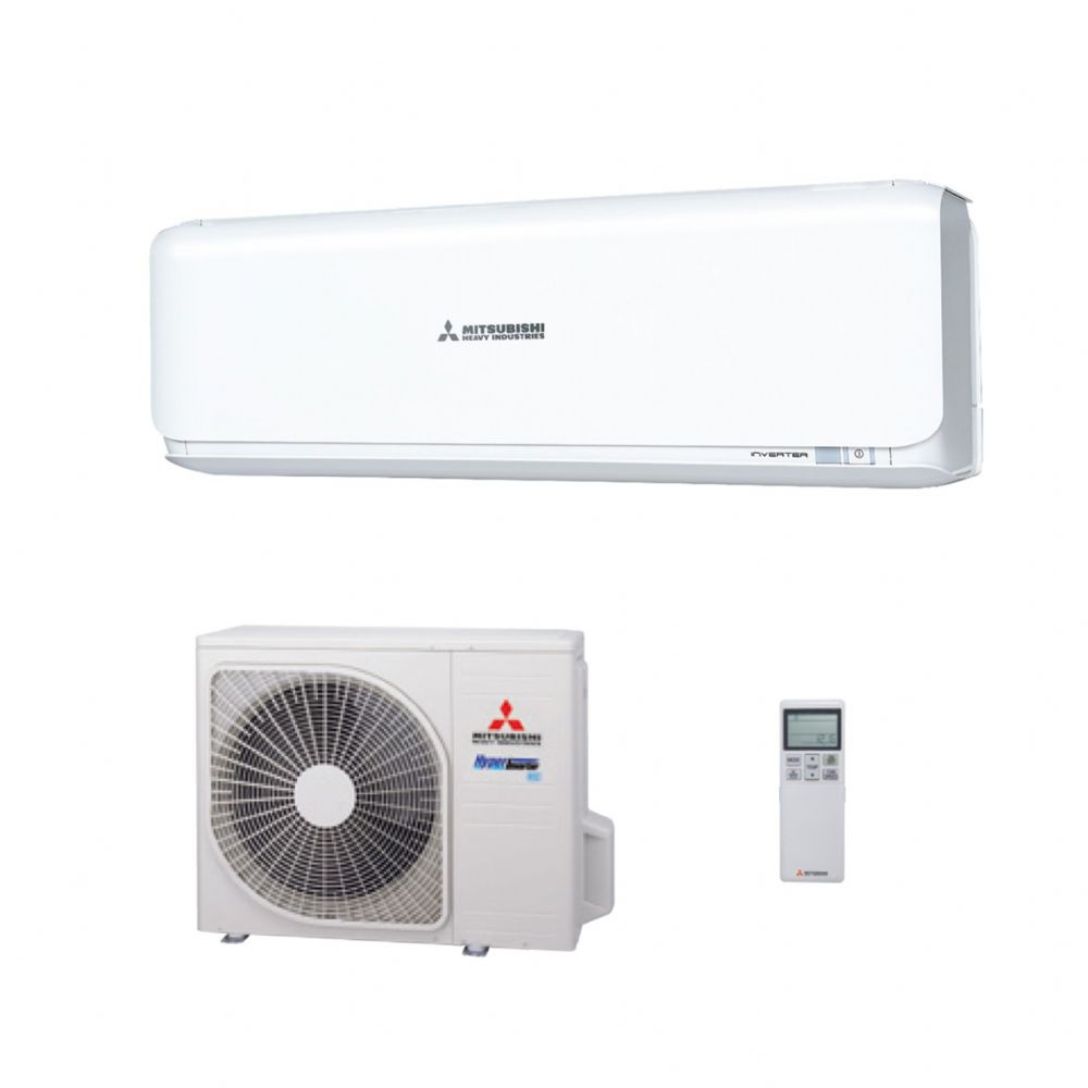 Mitsubishi Heavy Industries Air Conditioning SRK25ZSX-R32 Wall Heat Pump Install Pack